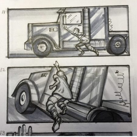Storyboard by Patricia Eubank